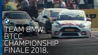 Team BMW BTCC Championship Finale 2018.
