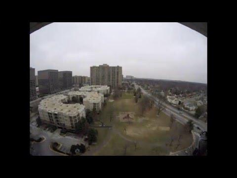 January 2016 Washington DC area Blizzard Time Lapse