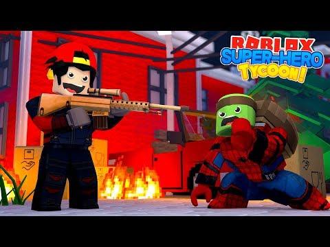 ROBLOX Adventure - DEADSHOT vs SPIDER-MAN - 동영상