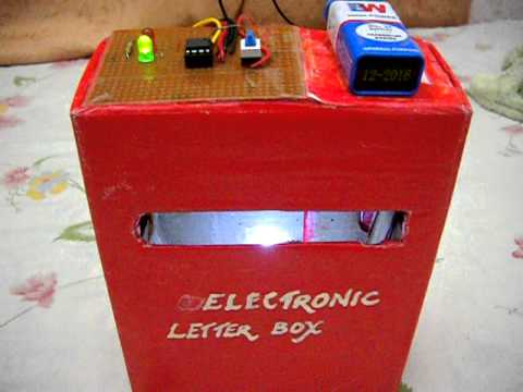 electronic letter box youtube