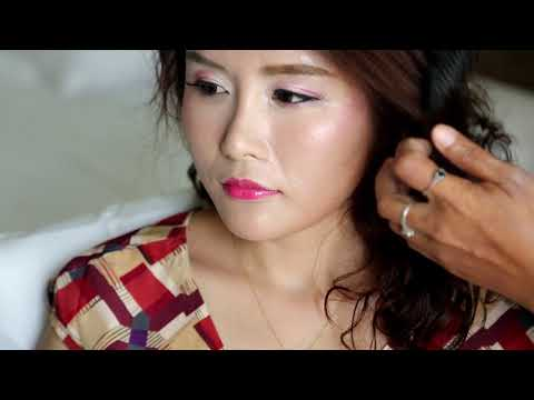 Phuket Makeup Artist Service : Liu Shen + Lin Yue