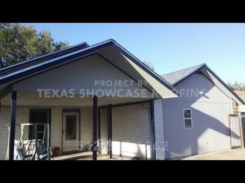 Austin roofing & siding job