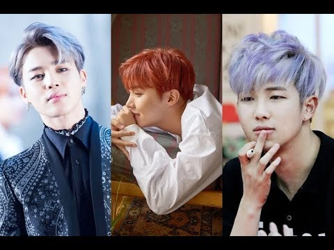 BTS Hair Color 2018 - Kpop Bangtan Boys