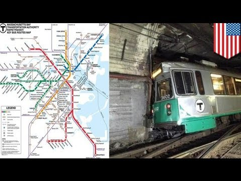 "Boston ""Green Line"" train derails"