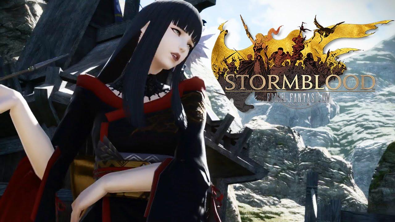 Final Fantasy XIV Stormblood Launch Trailer YouTube