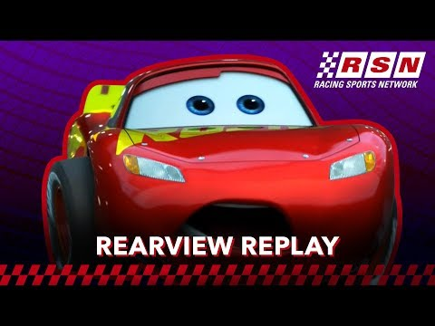 Rearview Replay: Lightning McQueen's Simulator Miss | Racing Sports Network by Disney•Pixar Cars