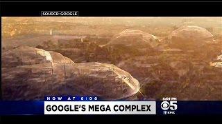 Google Reveals Otherworldly Design For New Headquarters