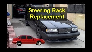 How To Replace The Power Steering Rack On A P80 Volvo, 850, S70, V70, Etc. - VOTD
