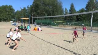 Пляжный волейбол  СДЮСШОР №12 г. Рыбинск
