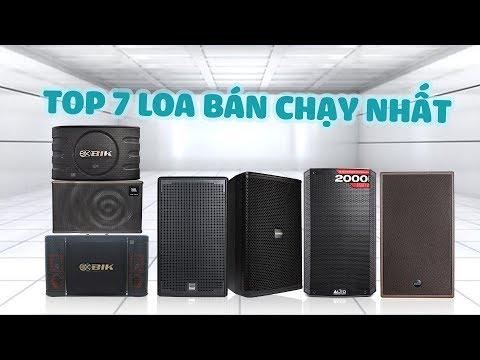 Top 7 Dòng Loa Karaoke Hay Nhất Hiện Nay Bán Chạy Tại Bảo Châu Elec Tháng 09/2019