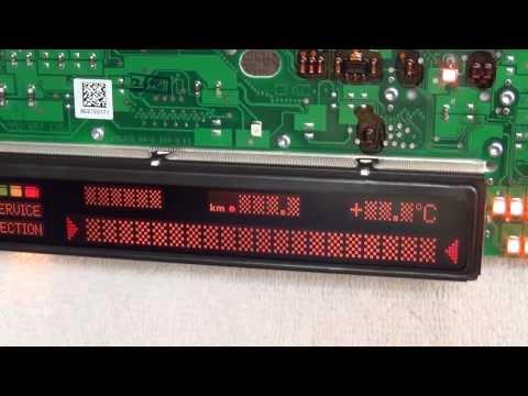 bmw-speedo-pixel-fix-in-2-minutes---uncut---e39-e38-x5-repair-instructions---silver-ribbon-cable