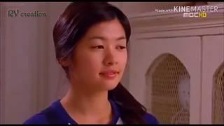 vuclip Othayadi padhayila thavi oodura song female version /korean mixed in play full kiss drama sceans💖