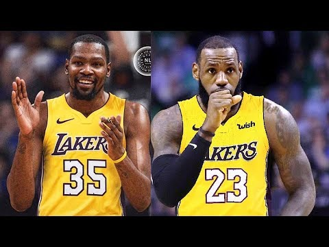 cc430c1bc01 Kevin Durant Joins LeBron James on the Lakers (Parody) - YouTube