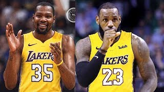 Kevin Durant Joins LeBron James on the Lakers (Parody)