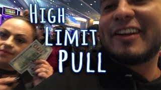 High Limit Pull!! Montego Bay Wendover Nevada