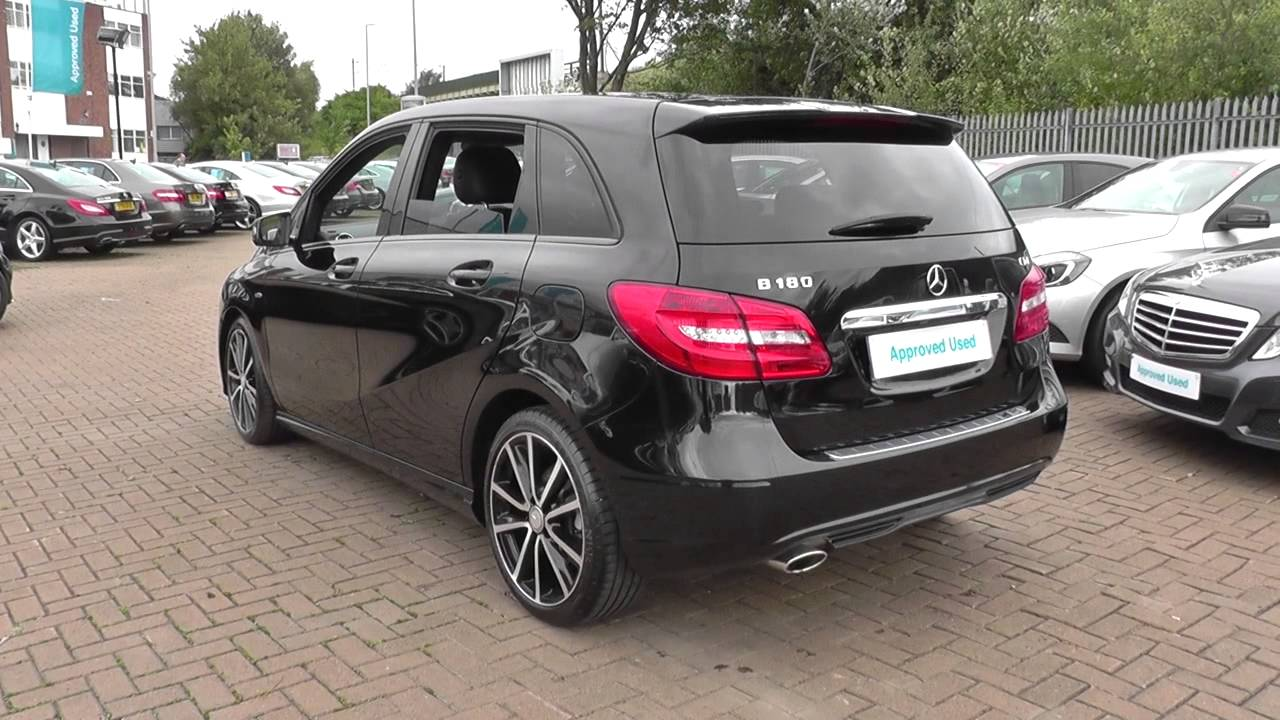 mercedes benz b class b180 cdi blueefficiency sport 5dr u22043 youtube. Black Bedroom Furniture Sets. Home Design Ideas