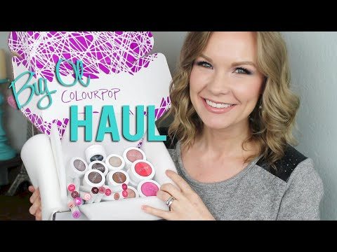 Big Ol' ColourPop Haul! Super Shock Cheeks & More!