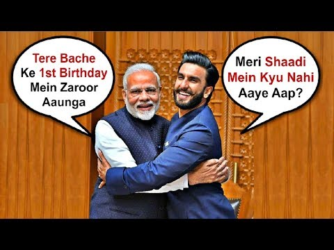 Ranveer Singh Gives Jadoo Ki Jhappi To PM Narendra Modi Mp3