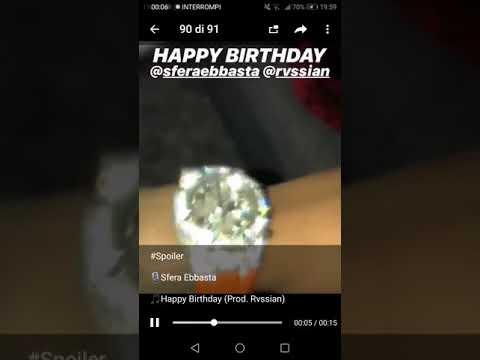 well known pick up how to buy Sfera Ebbasta: mostra il suo orologio pieno di diamanti e uno piccolo  spoiler del nuovo album