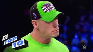 WWE : SAMKDOWN LIVE 10 MOST DENGURES MOVE MANTE
