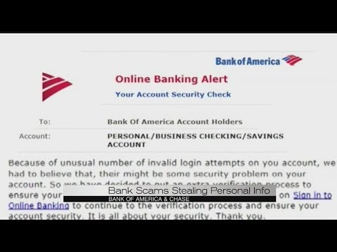 Bank Of America Scam Youtube