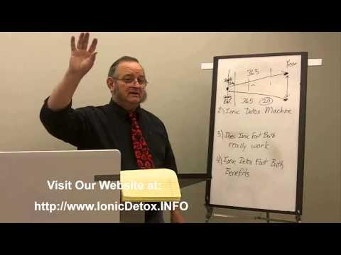 Ionic Detox Foot Bath Benefits | Call 1-888-649-3650