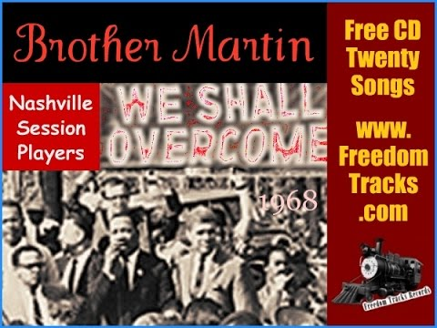 BROTHER MARTIN - Nashville Session Players - Free CD - www.FreedomTracks.com