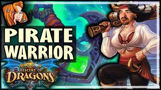 PIRATE WARRIOR IS INSANE… AGAIN?! - Hearthstone Descent of Dragons