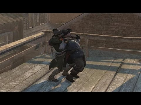 Assassin's Creed III Colonial Assassin Outfit Double Counter Kills & Roof Combat 60FPS GTX 970