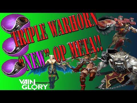 Vainglory - Triple War Horn OP STRAT