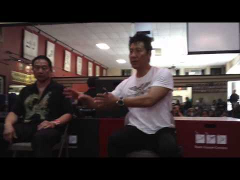 Master Philip Rhee talks about his martial arts training and what