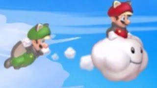 New Super Mario Bros. U Co-op Walkthrough - World 9 - Superstar Road (All Star Coins)