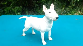 Border Fine Arts Margaret Turner Sculpture Female White English Bull Terrier