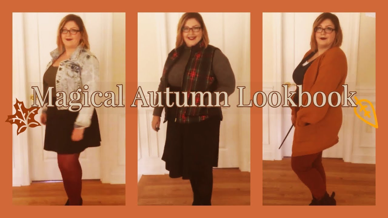 [VIDEO] - A MAGICAL AUTUMN LOOKBOOK ?  EIGHT OUTFITS! ✨  PLUS SIZE ? 9