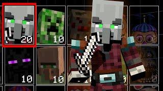Pillager invaded the UCN! Minecraft + FNaF! (UCN Mods)