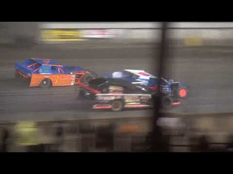 Governor's Cup IMCA Sport Mod feature Davenport Speedway 9/21/18