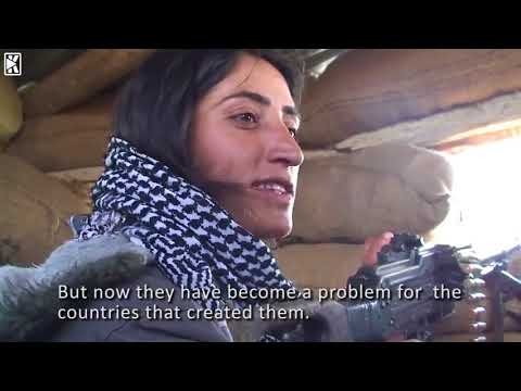 kurdish female fighters: I hope that kurdish women can inspire woman all over the world