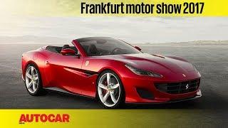 Ferrari Portofino   Frankfurt Motor Show 2017   Autocar India