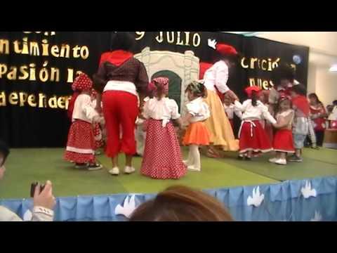 Jardin manuelita rio gallegos martina bailando candombe for Jardin 17 rio gallegos