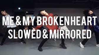 ME AND MY BROKEN HEART | RIXTON | KOOSUNG JUNG CHOREOGRAPHY | SLOWED AND MIRRORED