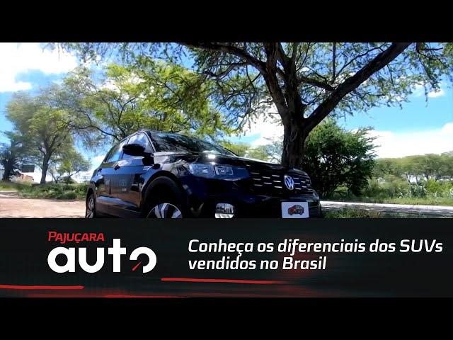 Conheça os diferenciais dos SUVs vendidos no Brasil: Volkswagen T-Cross