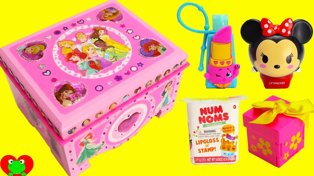 Diy Disney Princess Treasure Box With Num Nom Lip Balms