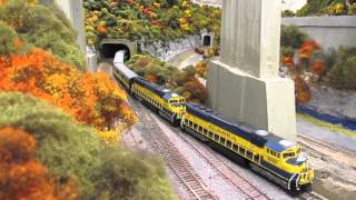 Incredible Detailed HO, O & N Layouts at BSMRRM Open House!  (12/5/15)