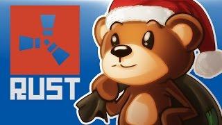 RUST - TEDDYBEAR CHRISTMAS Noob Adventures Funny Moments
