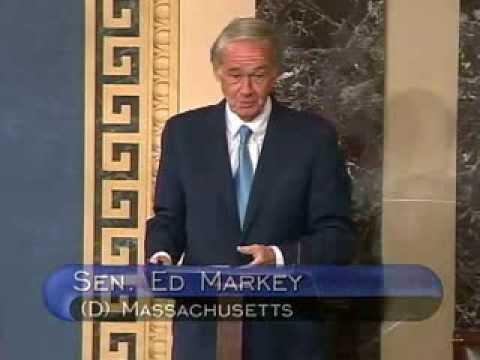 Markey Delivers First Senate Floor Speech
