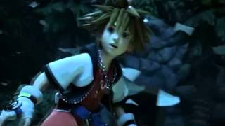 Kingdom hearts 3D Dream Drop Distance English opening [HD]