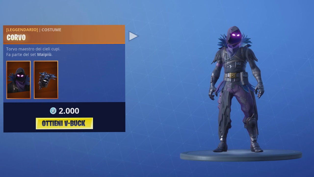 Fortnite Corvo Skin
