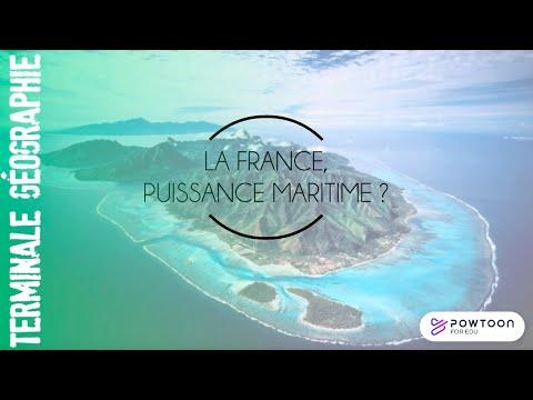 TERMINALE La France, une puissance maritime ?