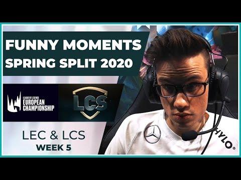 Funny Moments - LCS & LEC Week 5 - Spring Split 2020
