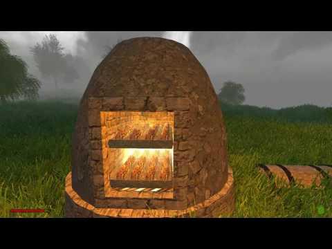 Rising World - Alpha - #4 - Smelting Iron Ore - making iron tools